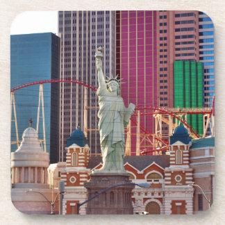 Las Vegas Gambling Game Casino Neon Sign Coaster