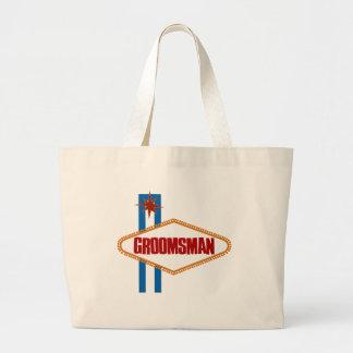 Las Vegas Groomsman Canvas Bag