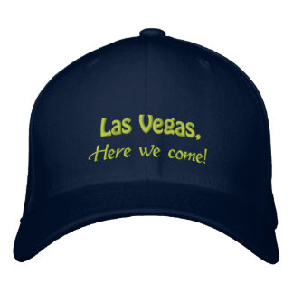LAS VEGAS, Here we come! Embroidered Hat