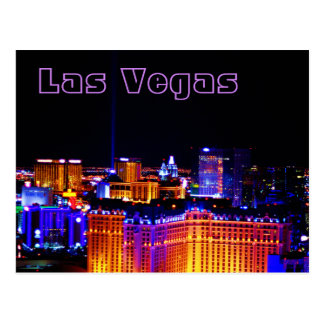 Las Vegas - Light in the Sky Postcard
