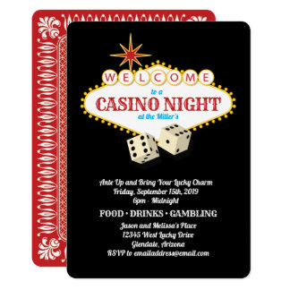 Las Vegas Marquee Casino Night Black Card