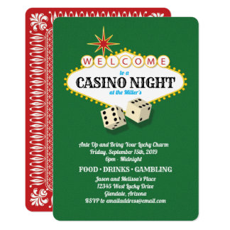 Las Vegas Marquee Casino Night Green Card