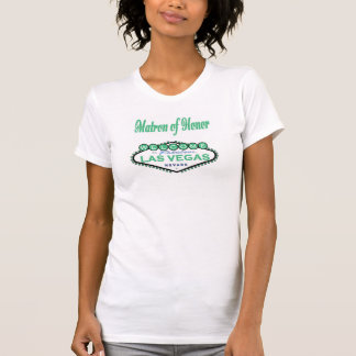 Las Vegas Matron of Honor Spring Green Camisole T-Shirt