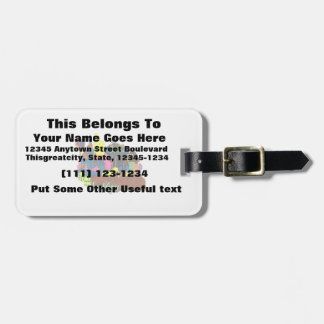 las vegas nevada 2 watercolor city graphic.png luggage tag