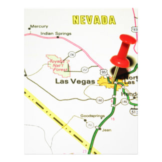 Las Vegas, Nevada Letterhead