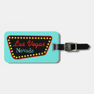 Las Vegas Nevada Luggage Tag