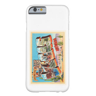Las Vegas Nevada NV Old Vintage Travel Souvenir Barely There iPhone 6 Case