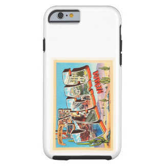 Las Vegas Nevada NV Old Vintage Travel Souvenir Tough iPhone 6 Case