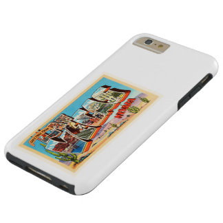 Las Vegas Nevada NV Old Vintage Travel Souvenir Tough iPhone 6 Plus Case