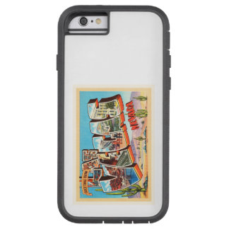 Las Vegas Nevada NV Old Vintage Travel Souvenir Tough Xtreme iPhone 6 Case