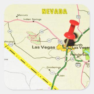 Las Vegas, Nevada Square Sticker