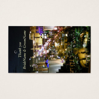 Las Vegas Nevada Thank you Gift Tag