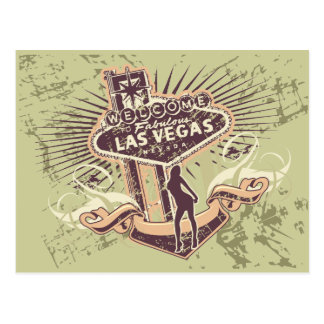 Las Vegas Nevada Tshirts and Gifts Postcard