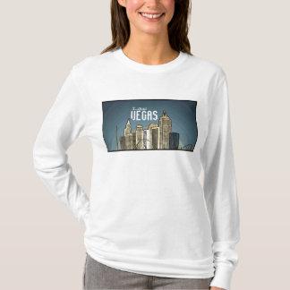 Las Vegas New York hotel view artsy hoodie