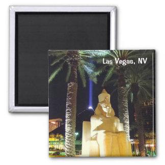 Las Vegas Night Magnet! Square Magnet