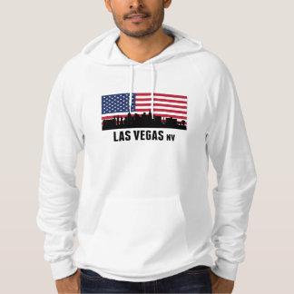 Las Vegas NV American Flag Hoodie