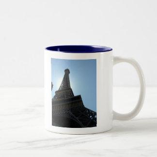 Las Vegas Paris Hotel Two-Tone Coffee Mug
