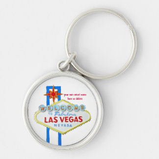 Las Vegas Personalized Event Keychain