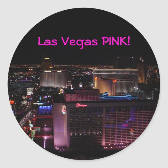 Las Vegas PINK! Sticker