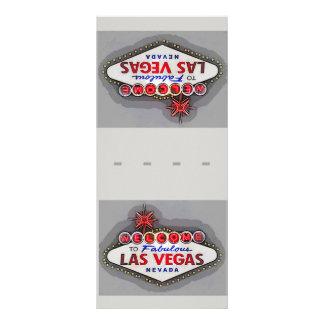 Las Vegas Place Setting Name Cards Silver