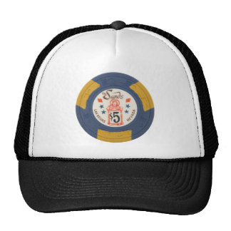 Las Vegas Poker Chip Casino Gambling Obsolete Trucker Hat