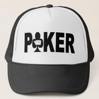 Las Vegas POKER Player Lucky Cap