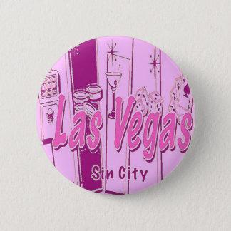 Las Vegas Pop Art Retro 2 Inch Round Button