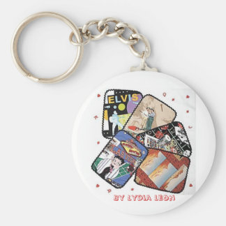Las Vegas Quilter Keychain By Lydia Leon
