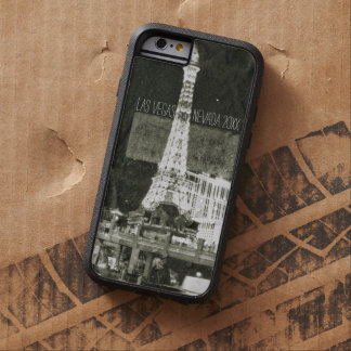 Las Vegas Retro Inspired, Eiffel Tower Nevada Tough Xtreme iPhone 6 Case