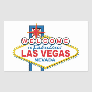 Las Vegas Retro Sign Sticker