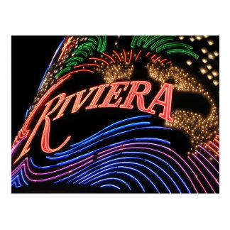 Las Vegas Riviera Postcard