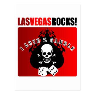 Las Vegas Rocks! Postcards
