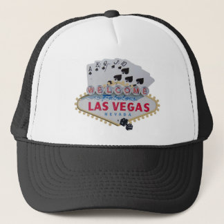 Las Vegas Royal Flush Cap with set of dice