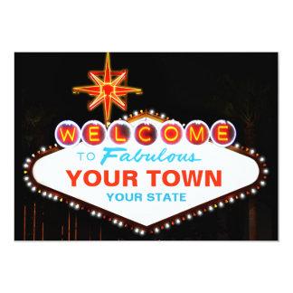 Las Vegas Sign Card