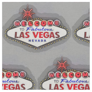 Las Vegas Sign Fabric