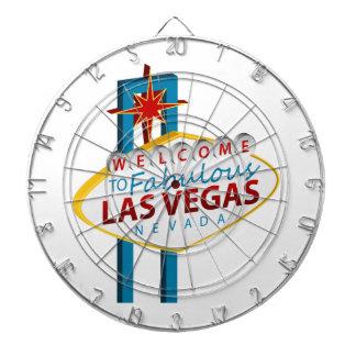 Las Vegas Sign Landmark Dartboard