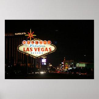 Las Vegas Sign Poster