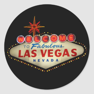 Las Vegas Sign Stickers