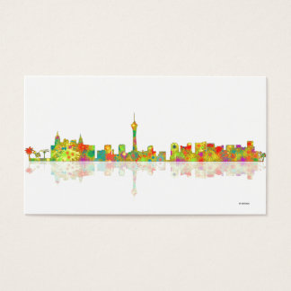 Las Vegas Skyline Business Card