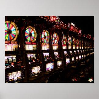 Las Vegas Slot Machines Poster