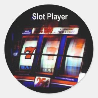 Las Vegas Slot Player 777 Sticker