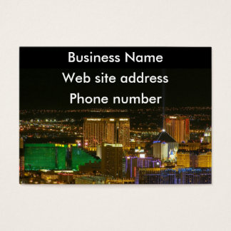 Las Vegas South Strip Business Card