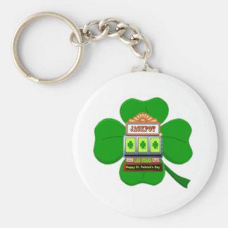 Las Vegas St Patrick's Jackpot  Keychain