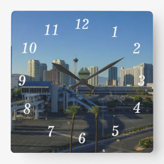Las Vegas Strip Ahead Clocks