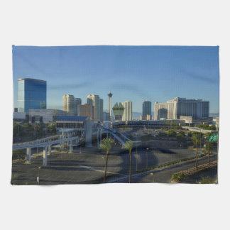 Las Vegas Strip Ahead Kitchen Towel