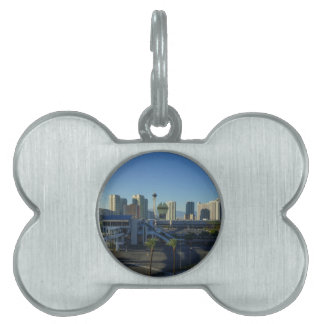 Las Vegas Strip Ahead Pet ID Tag