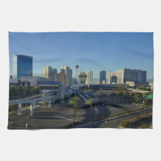 Las Vegas Strip Ahead Towel
