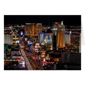 Las Vegas Strip for many Occasions Card
