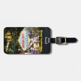Las Vegas Strip Luggage Tag