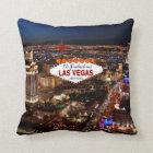 Las Vegas Strip Pillow